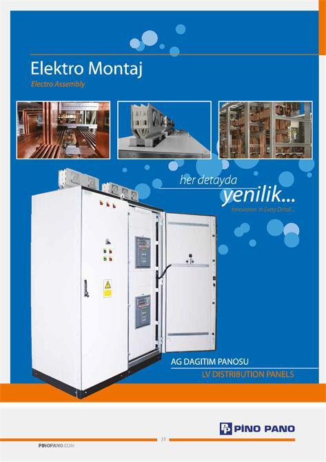 """49241-""""AG"""" distribution panel-Pino Pano-Ozkan Elektrik Otomasyon Metal San. Tic. Ltd. Sti"""