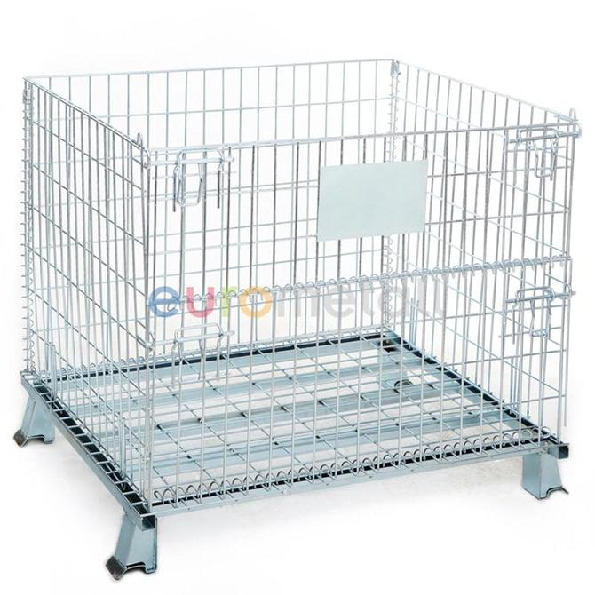7622-T1 standing container container 80x100cm-Eurometall-Damlacan Metal San. ve Tic. A.S.