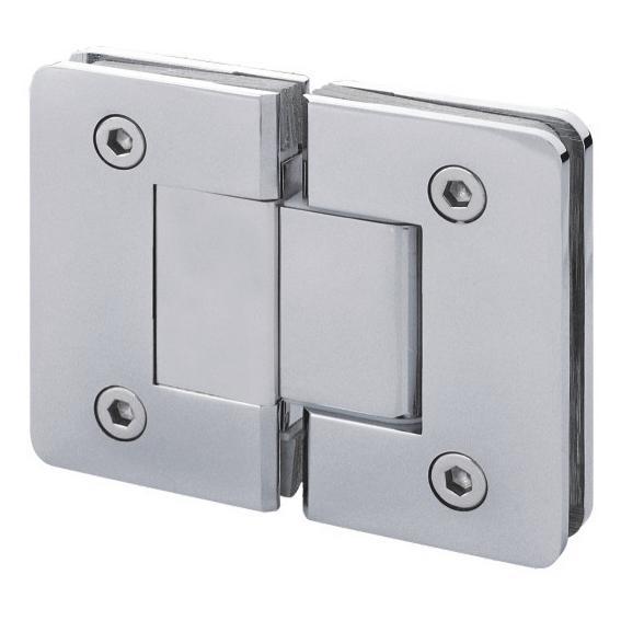 210180-BM-DM602-180-CH Shower Hinge - Chrome-BM Glass Hardware