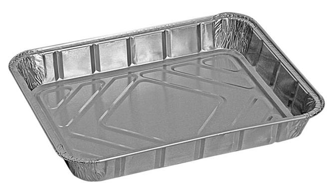 210354-Rectangular Aluminum Food Container-Sinanli Ambalaj San ve Dis Tic Ltd. Sti.