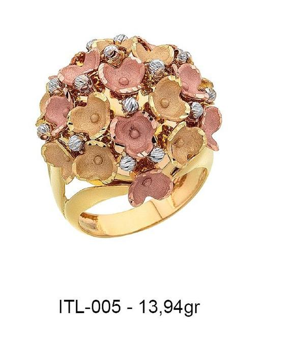 216143-14K Gold Ring-Rinel Import-Export Co