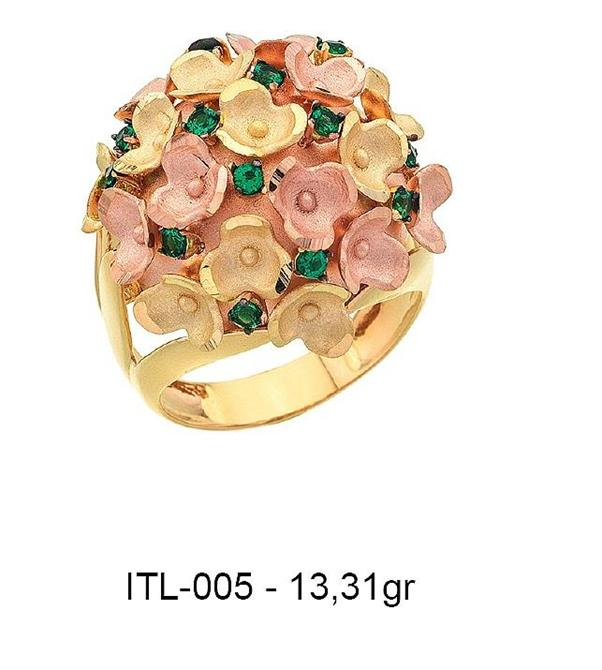 216140-14K Gold Ring-Rinel Import-Export Co