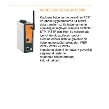 213621-Industrial Ethernet-Genesis Genel Elektrik Elektronik Sis. San. ve Tic. Ltd. Sti.