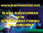 Karma Metal-Demir doğramacı is eleman alimi ilanı esenyurt hadımköy kıraç