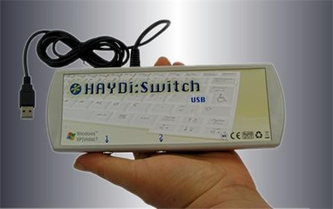 Engelliler için HAYDi:Switch USB