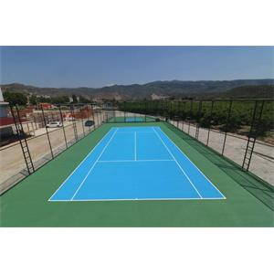 Tennis Court Coating Paint Acryflex T Standard System Buy Tennis