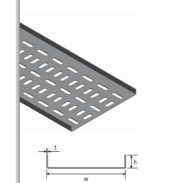 58358-EM Serisi Gemi Tipi Kablo Kanalları-EUROTRAY  Metal Kablo Taşıma ve Elektrik San.  Tic. Ltd. Şti