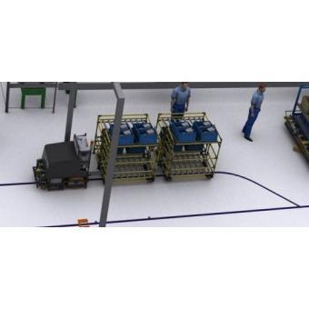 168950-Auto Forward-up Vehicle (AGV)-Demircioglu Robotik Biilisim Teknolojileri San. Ve Tic. Ltd. Sti.