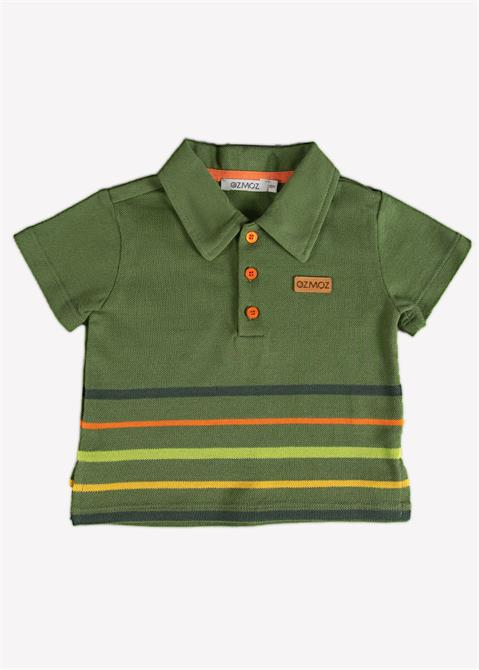 240633-Organic Baby Boy Polo T-shirt-Ozmoz Tekstil San. Ltd. Sti.