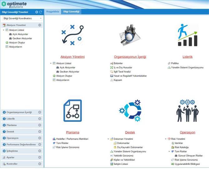 220649-Optimate ISO 27001 Bilgi Güvenliği Yönetimi Yazılımı-BTYÖN Danışmanlık, Eğitim, Yazılım Ve Teknoloji Hizmetleri San. Ve Tic. Ltd. Şti.