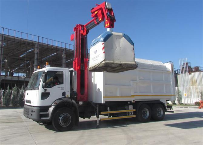 214236-Multi Purpose Garbage Truck-Tekno Kardelen Engineering Machinery Automotive San. and Tic. Inc.
