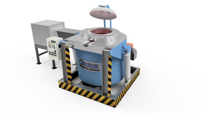 241271-Aluminum Melting Furnace-Arsteknik Endustriyel Muhendislik A.S.