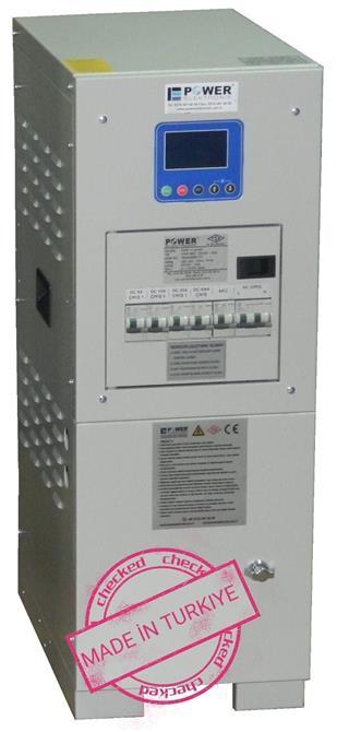 237444-110VDC 10A RECTIFIER, BATTERY CHARGER-POWER ELEKTRONİK SAN. VE TİC. A.Ş.