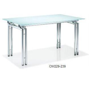 Metal Legged Glass Table Buy Metal Legged Glass Table