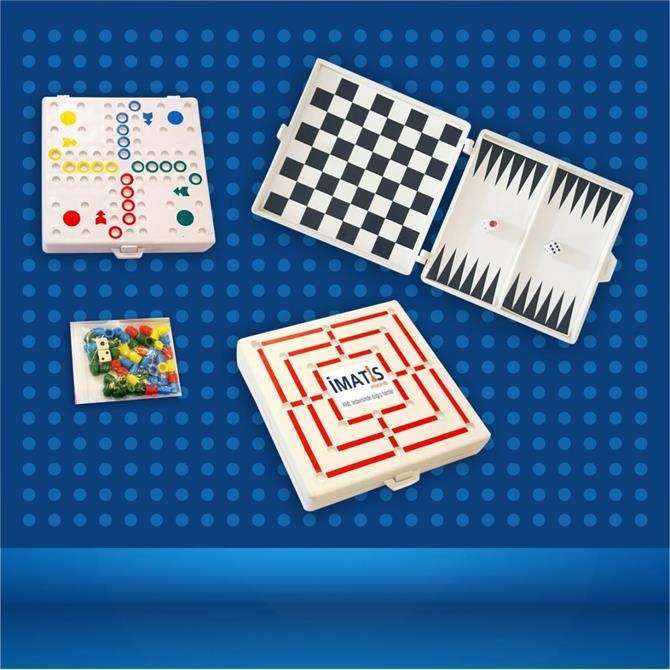 178776-Mini Oyun Seti-KİMAŞ PLASTİK VE PROMOSYON SANAYİ TİCARET LTD.ŞTİ.
