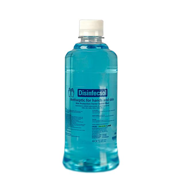 226222-Disinfecsol Hand Disinfectant 500 ml-Medikal Olusum Sanayi ve  Tic. Ltd. Sti. - MOSLAB