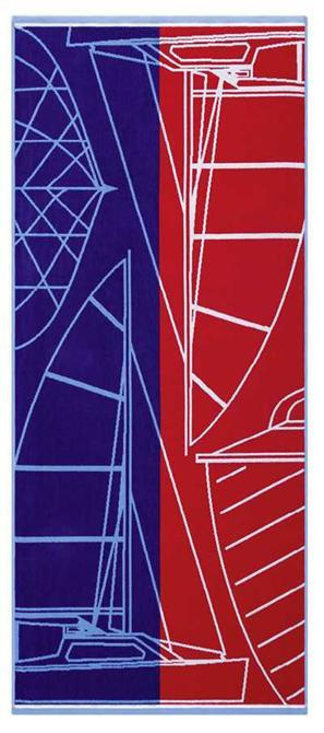 200011-Beach Towel-Maisonette Sailing Beach Towel-Super Marketing Tekstil San. ve Tic. A.S.