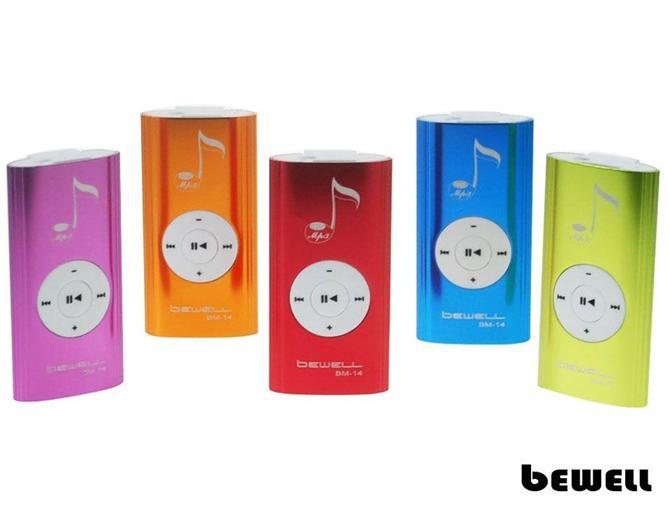 117887-Bewell BM14 MP3 Player-Mahmutoglu Elektronik San. ve Tic. Ltd. Sti.