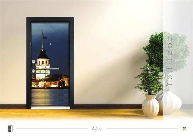 201109-Patterned Steel Door-ELFA METAL MAKİNA SANAYİ TİCARET LTD. ŞTİ.