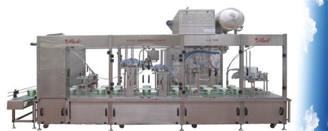 204677-LINEAR SYSTEM 2 BODY FILLING AND COVER CLOSURE MACHINE-Pak Dolum ve Ambalaj Makinalari Ins. Turz. San. Tic. Ltd. Sti.