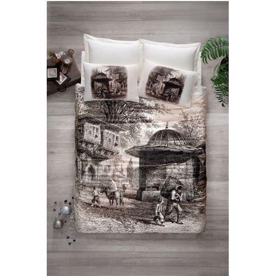 69715-Art Cotton Satin Duvet Sets-Cottonbox - Sumas Tekstil San. Tic. A.S.