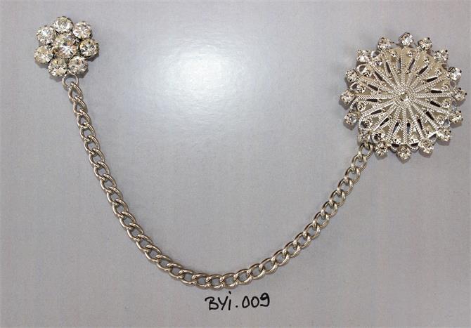 224560-Brooch-Bahar Crystal Textile & Accessories