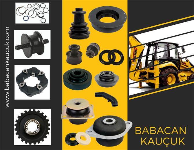 213661-Rubber, spare parts, vibration wedge, vibration, rubber wedge, train wedge, subway wedge,-Babacan Rubber  and  Spare Parts  Co. Ltd.