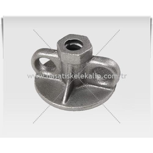 187158-Q 17 Cuff (With Ear) Nut-Basat Iskele Kalip Sistemleri Tur. Ins. San. ve Tic. Ltd. Sti.