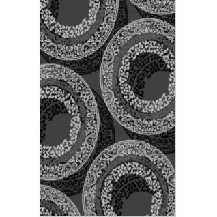 199787-Vision Oriented Gray Patterned Carpet-Petek Hali Tekstil Gida San. Ve Tic. Ltd. Sti.