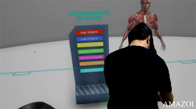 218138-Virtual Science Museum App - Virtual Reality-Amazoi Information Systems Electronics R&D Consultancy Simulation Industry and Trade LimitedCompany