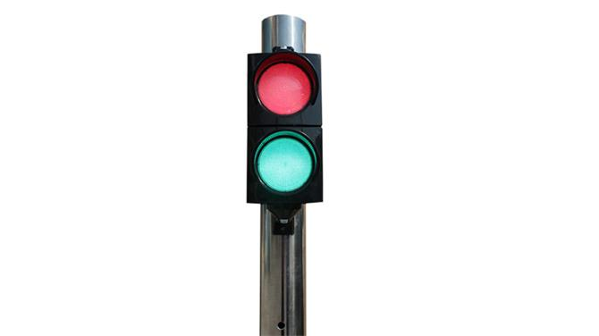 237599-100 mm Double Signal Head with Power LEDs-Asya Traffic Inc.