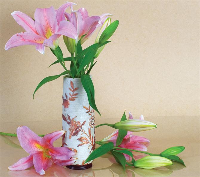 22447-Vase floral splendor-Ansan Ic ve Dis Ticaret Ltd.Sti.
