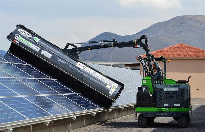 213944-Solar Panel Cleaning Machine-Mazaka Makine Sanayi ve Ticaret Ltd. Sti.