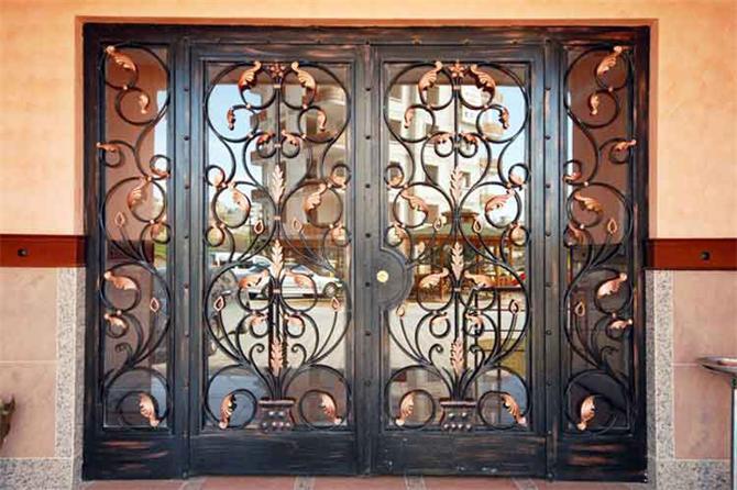 184617-Building Entrance Doors-Defor Ferforje Demir Dograma Nak. Otom. Tic. Ltd. Sti.