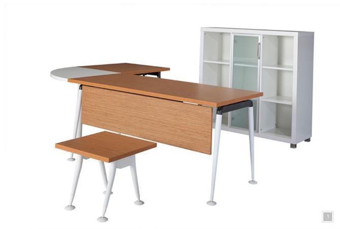 2088-Noble Çalışma Masası-Beşgen Ofis Mobilyaları