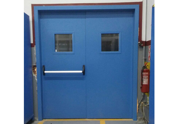 218981-Fire-resistant glazed metal doors-MKS Metalic Door Production