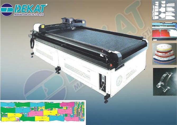 218422-PASTAL LASER CUTTING MACHINE-Dekat Makina Sanayi ve Ticaret. Ltd. Sti.