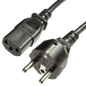 218324-PRSS Power cable 3x0,75 3meter 90c / 180c - POWER CABLES-Birikim Elektronik San. ve Tic. Ltd. Sti.