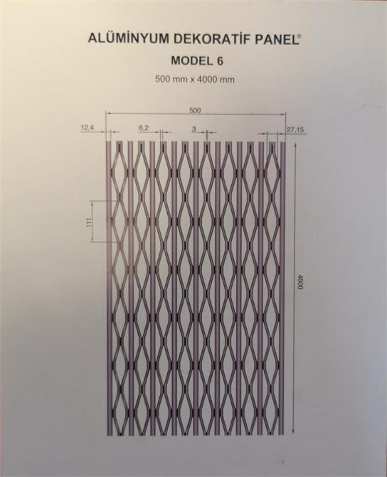 232856-Aluminum decorative panel-ARSLAN ALUMINYUM A.S