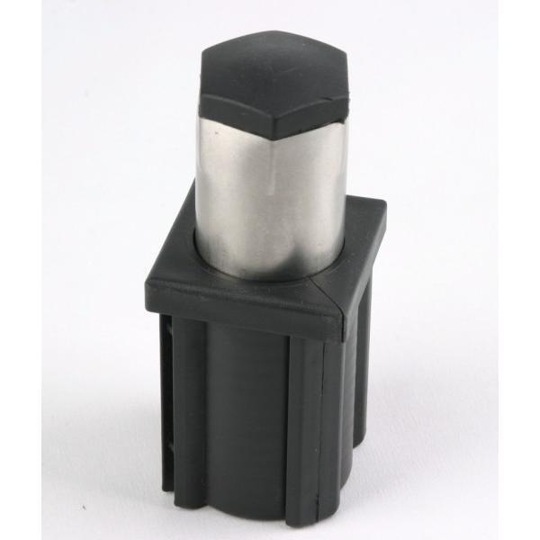 210298-PLA2 CHROME PLASTIC FOOT 40X40-Cagdas Bakalit ve Plastik Tekstil SAN.VE TIC.LTD.STI