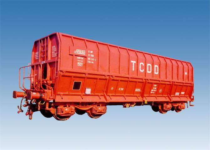 219032-Ore Transport Wagon-Turkiye Demiryolu Makinalari Sanayi A.S.