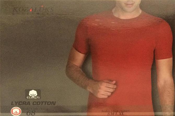 215439-Zero Collar Men's Flannel-Kozaluks Tekstil San. ve Tic. Ltd. Sti.