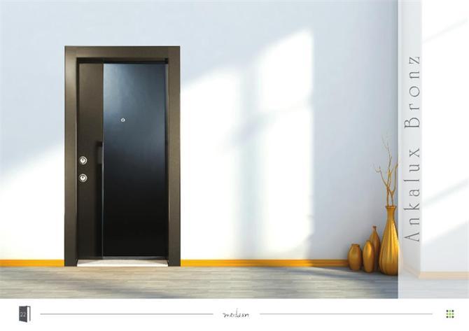 201103-Bronze Steel Door-ELFA METAL MAKİNA SANAYİ TİCARET LTD. ŞTİ.