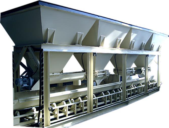191460-BS-400 Concrete Batching Plant-PINAR TILE MACHINERY LTD. CO.