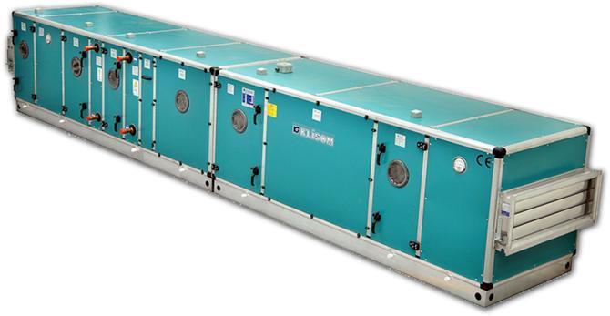 184309-Hygienic Air Handling Units-Klisom Klima Sogutma Isitma Montaj Insaat Sanayi ve Ticaret A.S.