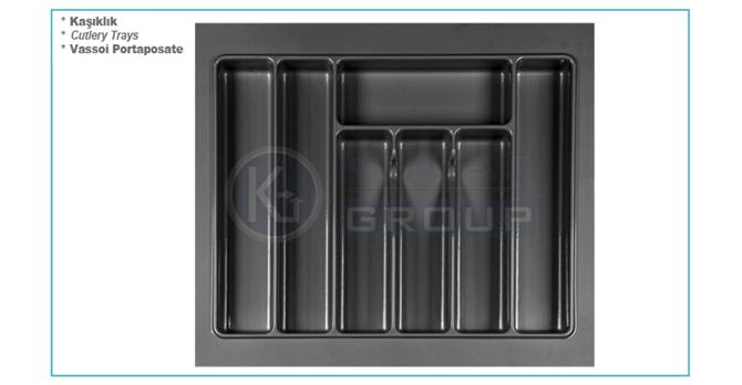 207874-Drawer Inside Rectangular Cutlery-Kulac Group - Kulac Plastik Metal Profil ve Aks. San. ve Tic. Ltd. Sti.