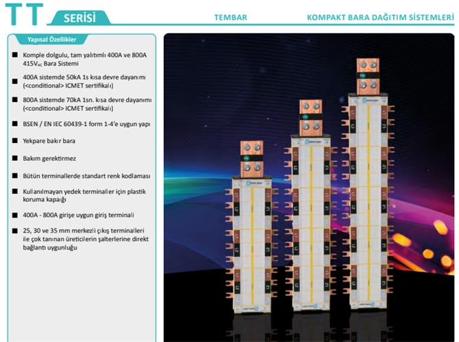 213616-Busbar Distribution Systems-Genesis Genel Elektrik Elektronik Sis. San. ve Tic. Ltd. Sti.