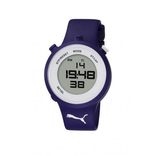 10419-Puma Lacivert Kayışlı Saat-Aşcı Saatçilik Tic. ve San. Ltd. Şti.