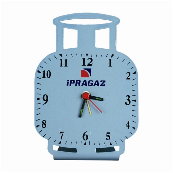 178428-Metal Tube Desk Clock-KİMAŞ PLASTİK VE PROMOSYON SANAYİ TİCARET LTD.ŞTİ.