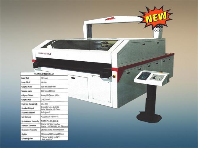218058-CAMERA PASTAL LASER CUTTING MACHINE WITH SCANNER-Dekat Makina Sanayi ve Ticaret. Ltd. Sti.